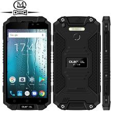 """Oukitel K10000 Max IP68 Waterproof shockproof 10000mAh mobile phone Android 7.0 MTK6753 Octa Core 3G RAM 32G ROM 5.5"""" Smartphone"""