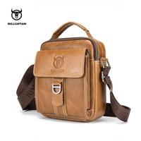 BULLCAPTAIN Men Shoulder Bag Classic Brand Men Bag Vintage Style Casual Men Messenger Bags Promotion Crossbody