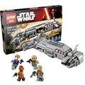678 unids LEPIN 05010 Resistencia Al Transporte de Tropas que montan bloques de construcción modelo de Star Wars juguetes de regalo con