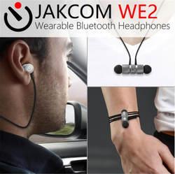 JAKCOM WE2 носимых Bluetooth наушники Шум отмена Беспроводной вкладыши Bluetooth Беспроводной микрофон спортивные наушники для iPhone
