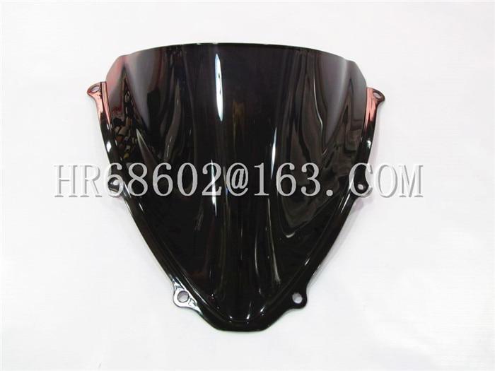 Double Bubble Windshield WindScreen Clear Fit 2005-2006 SUZUKI GSXR 1000 K6 K6