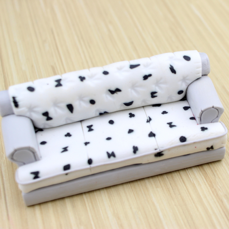 1/30 Dollhouse Miniature Furniture Maxi Mini Sofa Set Couch/Armchair Of 3 Totally  Kids Toys Model Diorama In Furniture Toys From Toys U0026 Hobbies On ...