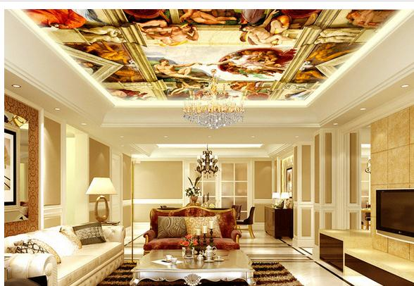Popular royal bedroom buy cheap royal bedroom lots from for 3d wallpaper for hall