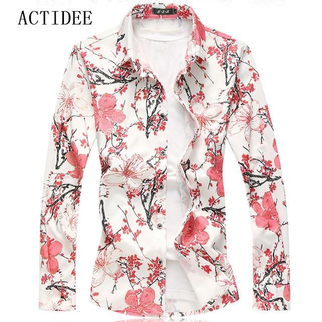 2018 flower shirt men fashion shirts high quality plus size 7xl 6xl 2018 flower shirt men fashion shirts high quality plus size 7xl 6xl 3xl 4xl 5xl floral mightylinksfo