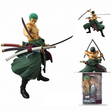 New anime one piece Zero figure pvc 18cm action figures S.H.Figuarts model toys Roronoa Zoro Model collection juguetes hot sale