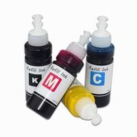 4 farbe 100ml Pigment Tinte für Epson WF 6530 WF 6590 WF 8590 WF 6090 WF 8090 WF 8010 WF 8510 PX M7050 PX S7050 M860F S860 WF 8091|Tinten-Nachfüllkits|   -