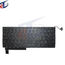 "A1286 AR keyboard for macbook pro 15.4"" A1286 Arabic Arab keyboard without backlight 2009-2012year"