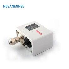 PC55 مفتاح ضغط لنظام التبريد المتاحة في الهواء أو الماء السائل أداء مستقر جدا NBSANMINSE