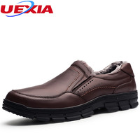 Dad Loafers Designer Winter Shoes Men Warm Short Plush Fashion Casual Father Shoe Men Top Quality