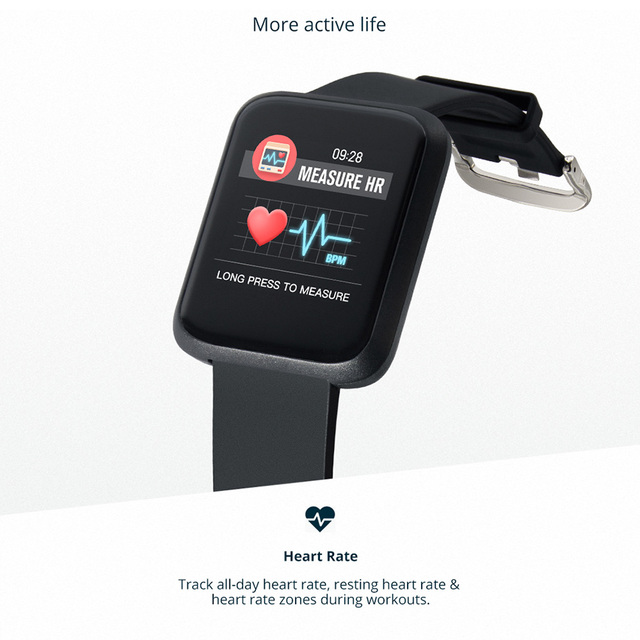 COLMI Smart Watch IP68 Waterproof  For IOS Android