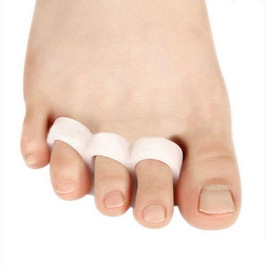 1Pair Feet Care Toe Orthotic Thumb Hallux Valgus Orthopedic Metatarsal Crooked Overlapping Toe Corrector