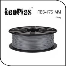 Worldwide Fast Delivery Direct Manufacturer 3D Printer Material 1 kg 2.2 lb 1.75mm Grey ABS Filament