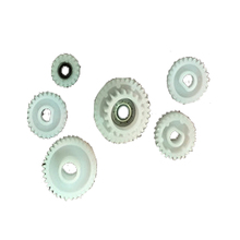 6pcs/set Developing gear For Konica Minolta K7165 7155 7255 DI650 7272 7210 DI5510 develop gears new original for konica minolta 7040 7045 7085 7130 7135 7145 7155 7165 7255 7272 8050 toner remainder detect sensor 40aa88030