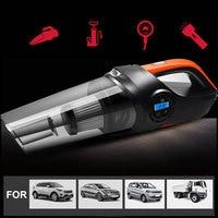 Vacuum Cleaner Auto Vacuum Cleaner Portable Car Vacuum Cleaner Air Inflatable Pump Tire Pressure Wet/Dry Handheld Universal