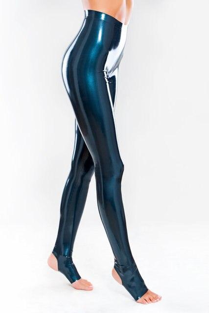 Сексуальные брюки в обтяжку из спандекса