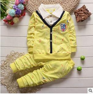 Primavera outono Moda estrela dos desenhos animados do bebê menino roupas de manga longa definir crianças roupa dos miúdos conjuntos meninos ternos do esporte crianças agasalho