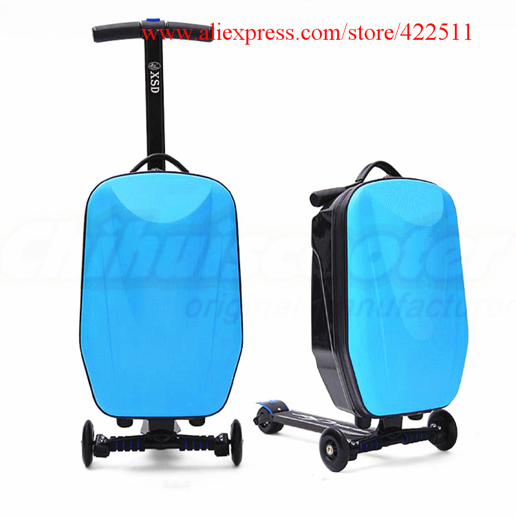 New 21 Scooter Luggage 21 inch Suitcase Scooter  PC Travel Trolley (Scooter Spare Parts& Accessories) 21
