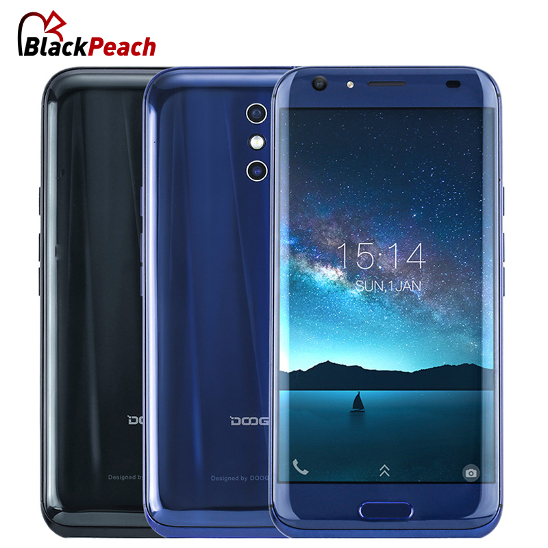 DOOGEE BL5000 Dual 13.0MP Camera Mobile Phone 5.5 Inch FHD MTK6750T Octa Core 4GB RAM 64GB ROM 12V2A Quick Charge 5050mAh OTA 4G