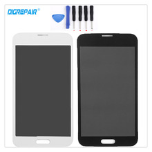 A + Negro/Blanco Para Samsung Galaxy i9600 S5 G900F G900A G900T G900V G900P Pantalla LCD Digitalizador de Pantalla Táctil Piezas de montaje + Herramientas