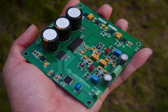 AD1865 decoding finished board r2r decoding nos mode DAC 24bit 192K Decoder