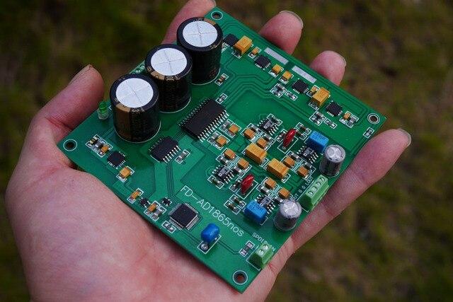 AD1865 dekodierung fertige board r2r dekodierung nos modus DAC 24bit 192K Decoder