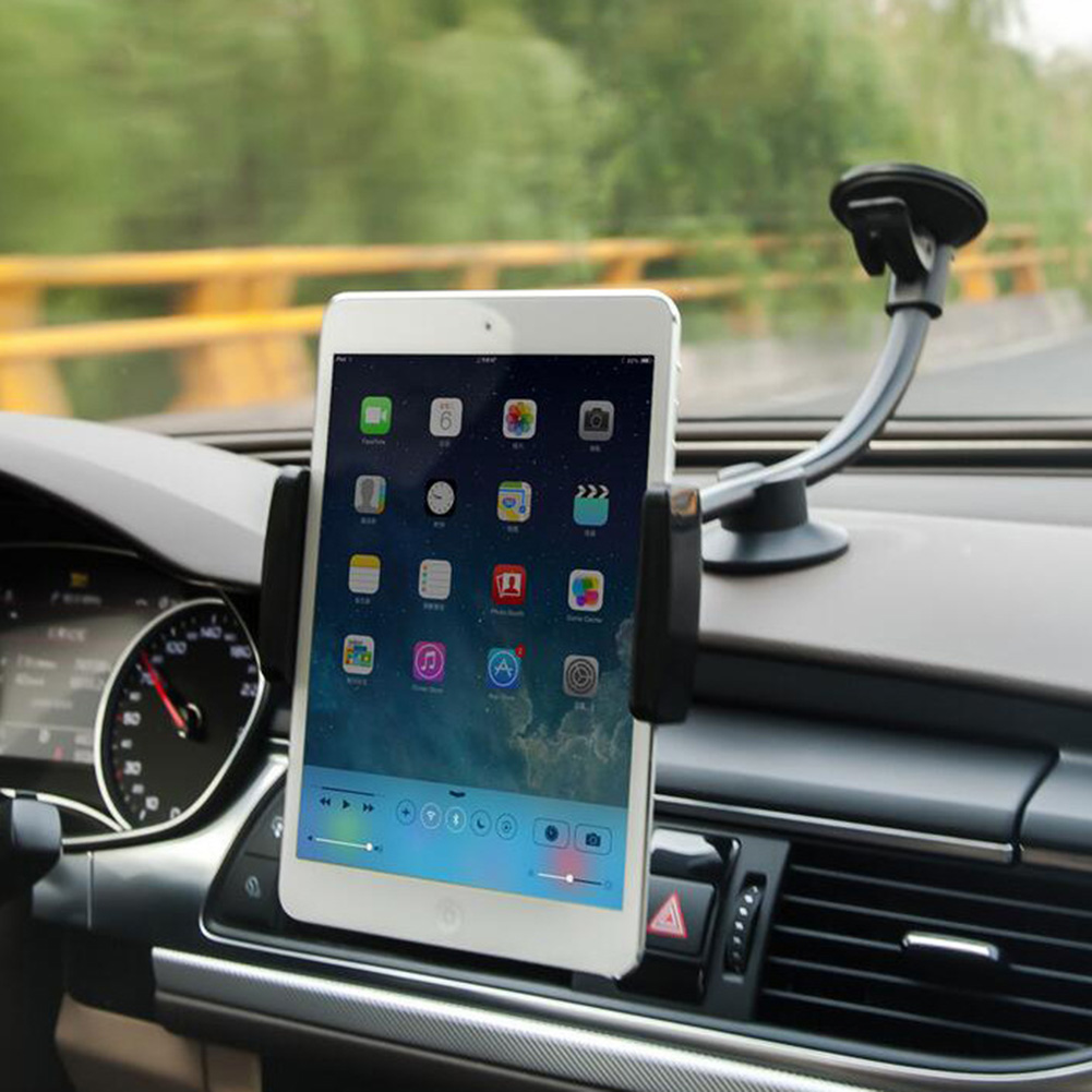 Alloet Универсальный автомобильный держатель телефона, авто мобильного телефона Планшеты GPS держатель навигации Стенд лобовое стекло держате... ...
