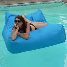 Creative bean bag cover wholesale new creative waterproof fabric tatami gray water Double bed cover without filling