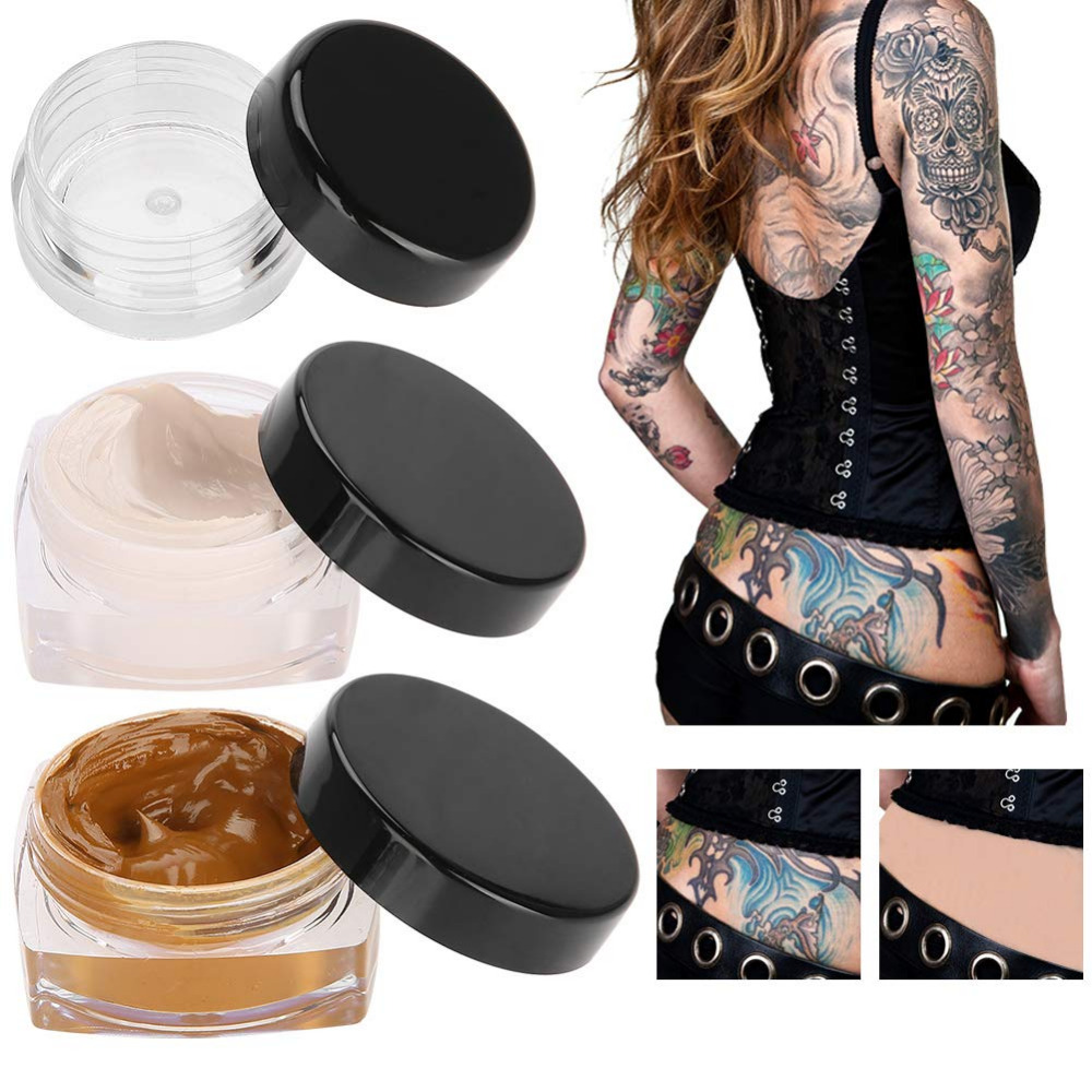 Tattoo Concealer Upgrade Professional Waterproof Skin Camouflage Cream Scar Hiding Tattoo Cover Up Makeup Vitiligo Spots