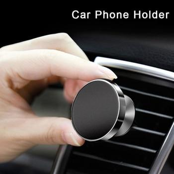Universal Magnetic Car Phone Holder Support Smartphone Voiture Bracket 360 Degree Rotation Mobile Stand Magneet Telefoonhouder