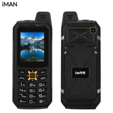 Original iMAN S2 IP68 Wasserdicht Staubdicht 2G 2,0 zoll 6531CA 64 MB + 64 MB Handy 2MP 2200 mAh OTG Lautsprecher Bluetooth Cellpone
