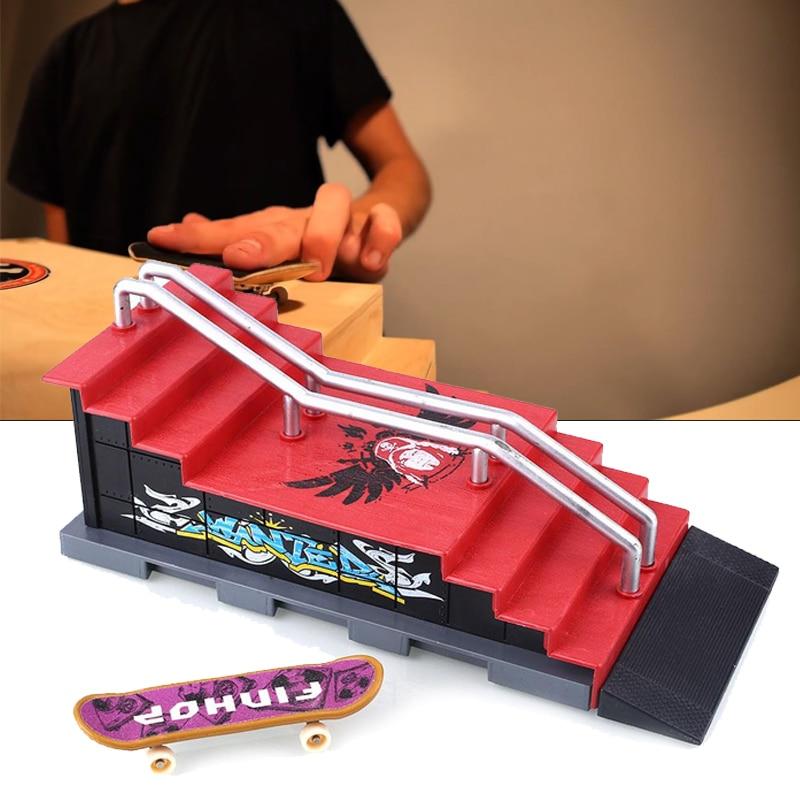 LiebenswüRdig Finger Skateboards Ort Montage Set Kit Spielzeug Kunststoff Legierung Finger Sport In Verschiedenen AusfüHrungen Und Spezifikationen FüR Ihre Auswahl ErhäLtlich
