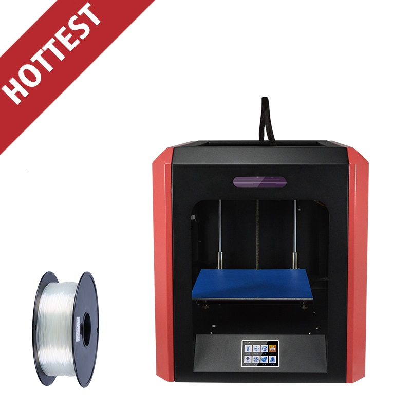 2017 Newest High Quality Shenzhen Yite Accurate Extruder 3D Printer with Upgraded Version Motherboard Free ABS