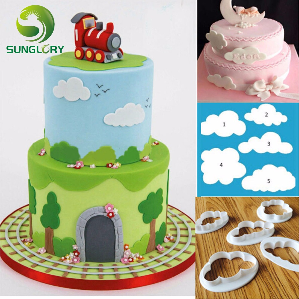 Aliexpresscom Buy Kids Birthday Cake Decorating Mini 5PCS DIY