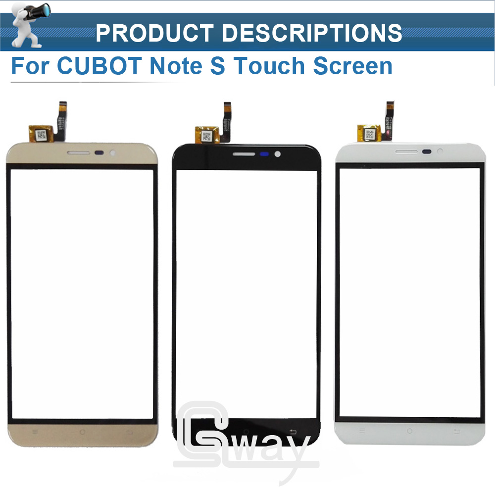 CUBOT Note S Touch Screen Digitizer+ Tools New 1280X720 HD 5.5inch Digitizer Assembly Replacement For CUBOT Note S Mobile Phone