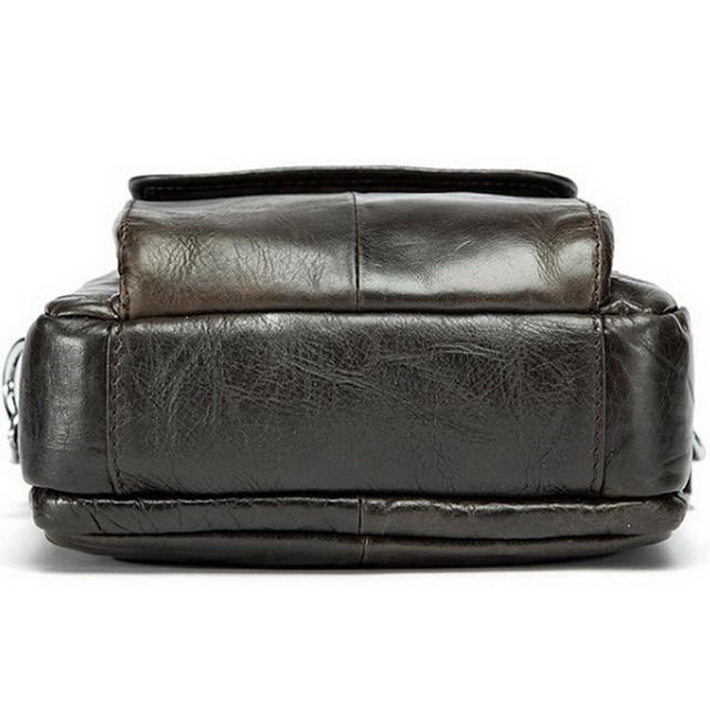 MVA Genuine Leather Men Bag Small Shoulder Crossbody Bags Men Messenger Bags Men's Leather Bag Casual Handbags Hot Sale