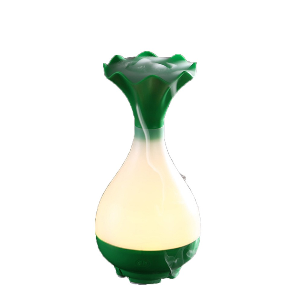 Jade Net Bottle Ultrasonic Humidifier Aromatherapy Mini Colorful Night Light USB Humidifier Home Office Mist Maker
