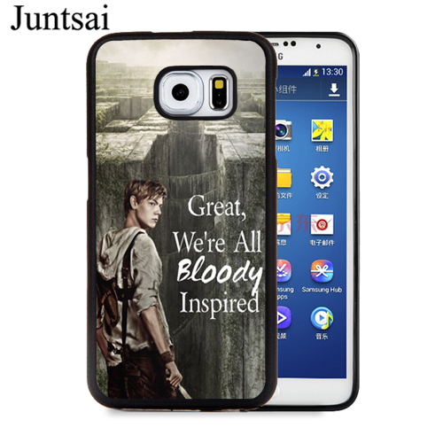 Juntsai Newt Quotes The Maze Runner TPU Full Protect Cover Case For Samsung  Galaxy S4 S5 S6 S7 Edge S8 S9 Plus Note 8 5 4 Case