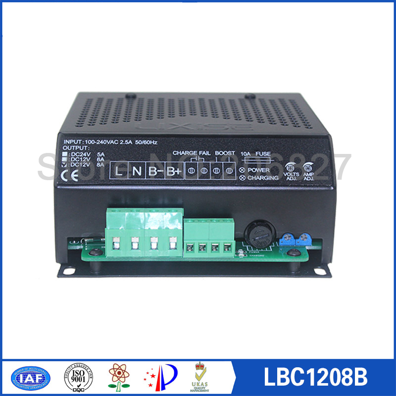 12V 8A diesel genset/generator battery charger LBC1208B 12v 6a diesel genset automatic battery charger lbc1206b