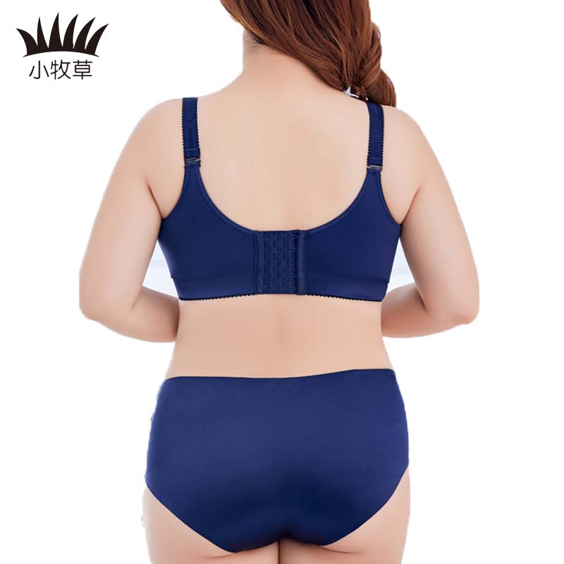 693900b86 Matchable Solid Sexy Lady Full Cup Bra Brief Sets L XL XXL Sexy Women  Seamless Underline Push Up Bra Large Size Bras Underwear-in Bra   Brief Sets  from ...