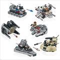 1 unids Nave Espacial de Star Wars Building Blocks Juguetes Luchador Clone Wars Starwars Naves Edificable Figuras Juguetes para Niños 78085