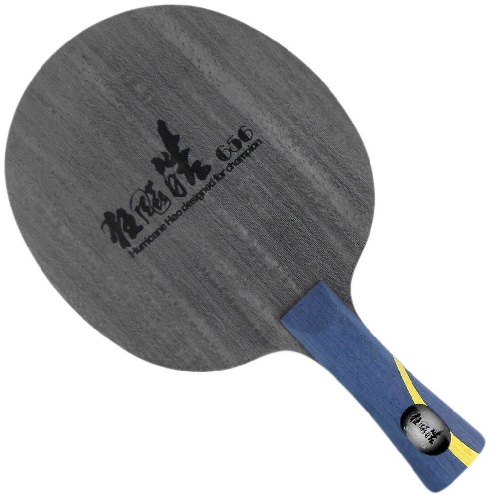 DHS Hurricane Hao 656 Table Tennis Blade (Shakehand-FL) for PingPong Racket original dhs hurricane hao 3 table tennis blade carbon blade table tennis racket racquet sports indoor sports wang hao use