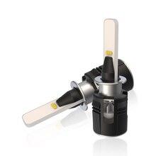 Hot sale 4300K CSP B6S Car LED Headlight Bulbs H4 H7 H11 H1 H3 9005 9006 60W 8400LM Auto Headlamp Fog Light Bulb 12V