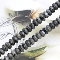 Beautiful! Abacus shaped Flash stone 5X8mm loose beads 15 inches DIY jewelry making design ornaments gift wholesale and retail