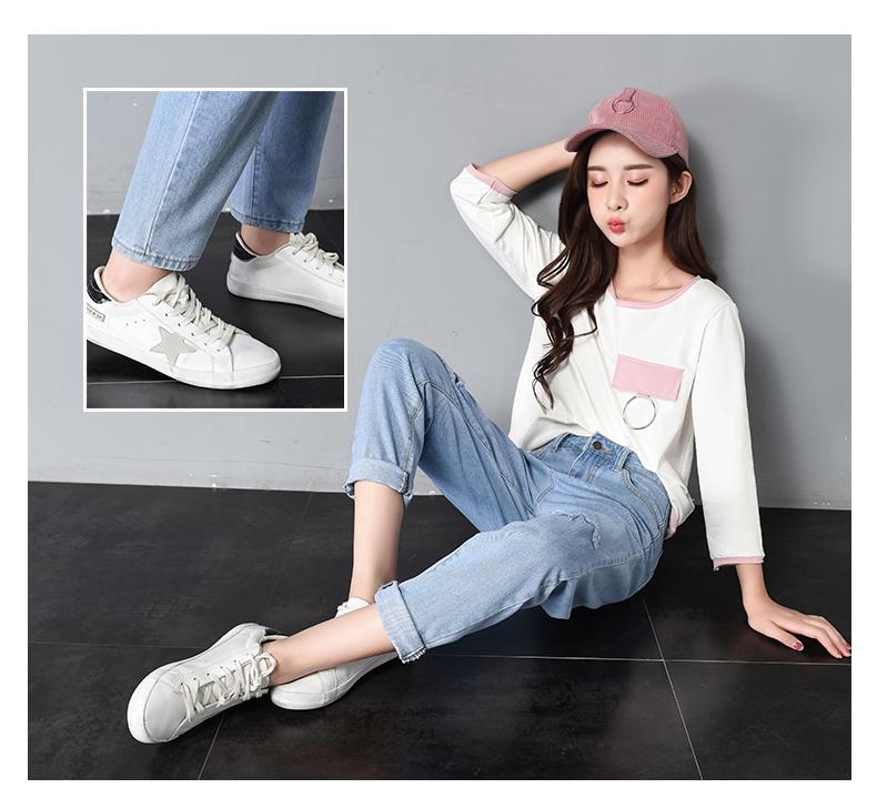 HTB1YjTHSpXXXXXcXXXXq6xXFXXXZ - Women High Waist Jeans Ripped Solid JKP127