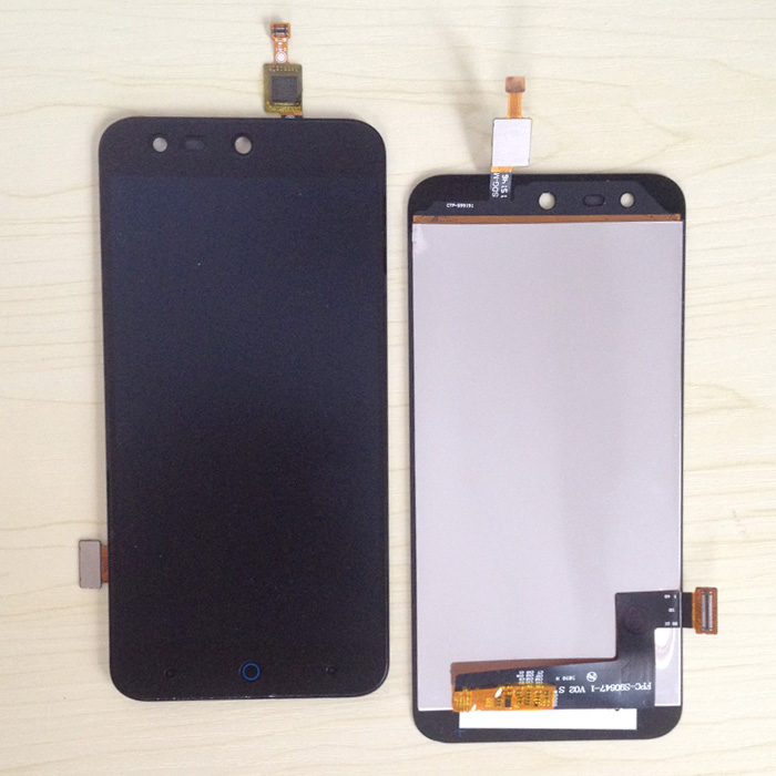 Black 100% New For <font><b>ZTE</b></font> Blade X5 / Blade D3 <font><b>T630</b></font> LCD DIsplay + Touch Screen Digitizer Assembly Replacement Free shipping image
