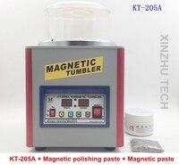 KT 205A переменная частота скорость регулирования Магнитная полировальная машина Магнитный стакан ёмкость 800 г