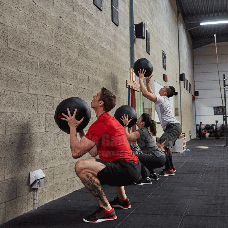 35cm Crossfit Medicine Ball Empty Snatch Wall Balls Heavy Duty Exercise Kettlebell Lifting Fitness MB Muscle Building