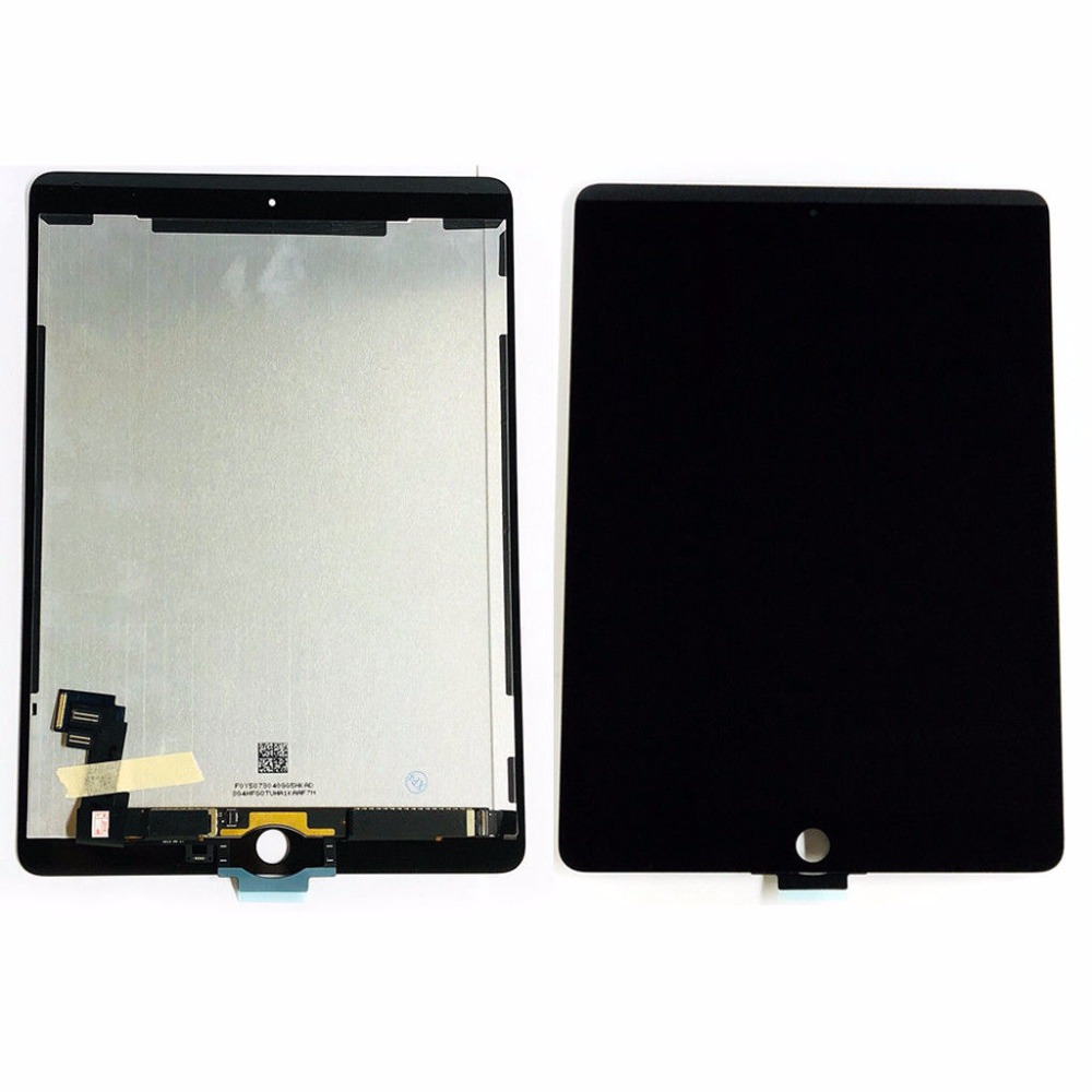 For iPad Air 2 2nd Gen A1567 A1566 LCD display Touch Screen Digitizer Assembly 9.7 inch black colors or white 5pcs lcd display digitizer touch screen assembly for ipad air 2 2nd gen a1566 a1567 replacement dhl free