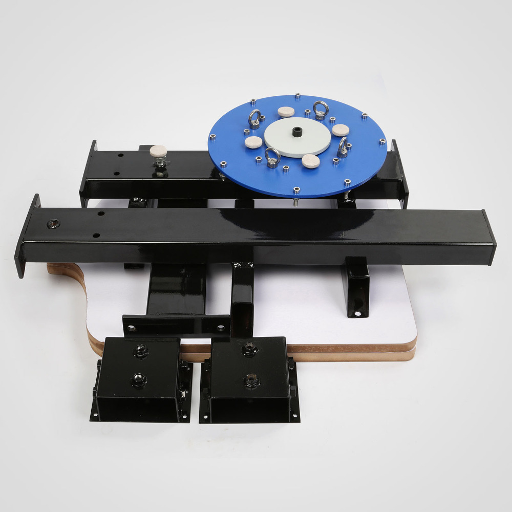 4 Color 2 Station Silk Screening Screenprint Press Screen Printing Machine