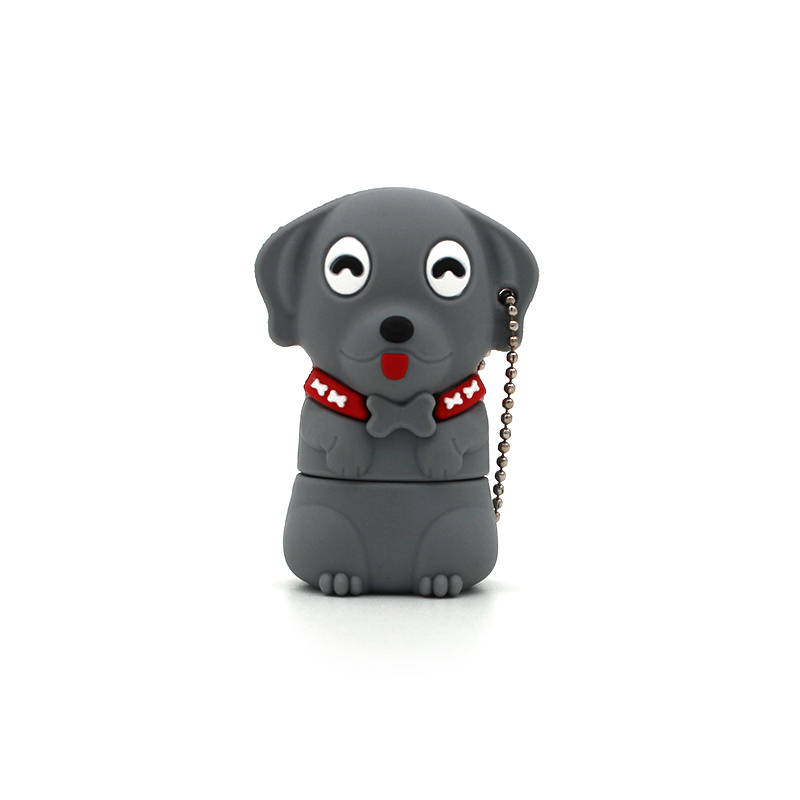 Hot Sale Flash Drive Animal Mini Cartoon Cute Pet Dog Memory Stick Pen Drive 4gb 8gb 16gb 32b 64gb Pendrive Usb 2.0 Flash Disk Be Shrewd In Money Matters Computer & Office